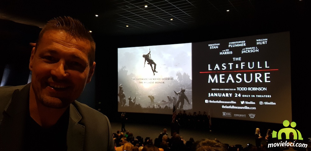 Petr Jákl na premiéře filmu The Last Full Measure